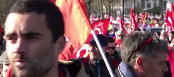 فرانس ، ٹریڈ یونیز ، افراد ، پنشن اصلاحات ، سڑکوں
