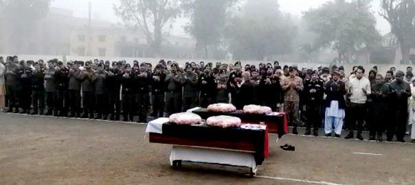 راولپنڈی نماز جنازہ ادا راولپنڈی  92 نیوز دہشتگرد کی فائرنگ  پولیس لائن  سی پی او احسن یونس  کالعدم تنظیم  دہشتگرد