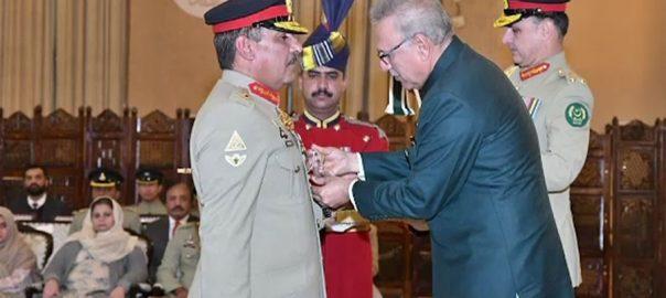 صدرمملکت ، چیئرمین جوائنٹ چیفس آف اسٹاف کمیٹی ، جنرل ندیم رضا ، نشان امتیاز ملٹری ، عطا