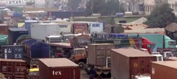 ملک بھر، گڈز ٹرانسپورٹرز، ہڑتال، اشیاء، ترسیل متاثر، کراچی، 92 نیوز