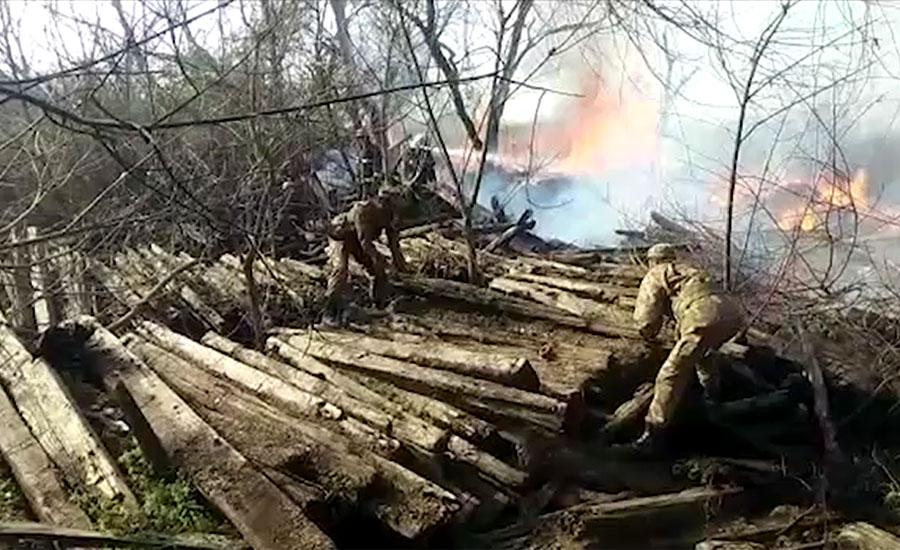 گوجرانوالہ میں ریلوے گودام میں لگنے والی آگ پر 80 فیصد قابو پا لیا گیا ، ریسکیو ذرائع