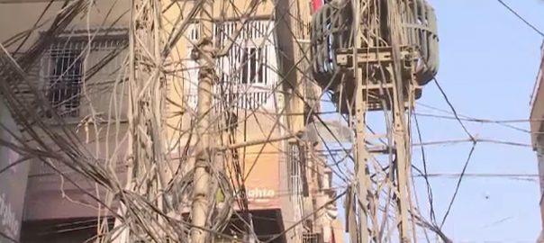 حیدر آباد  بجلی کے لٹکتے تار  حادثات  92 نیوز  حیسکو انتظامیہ