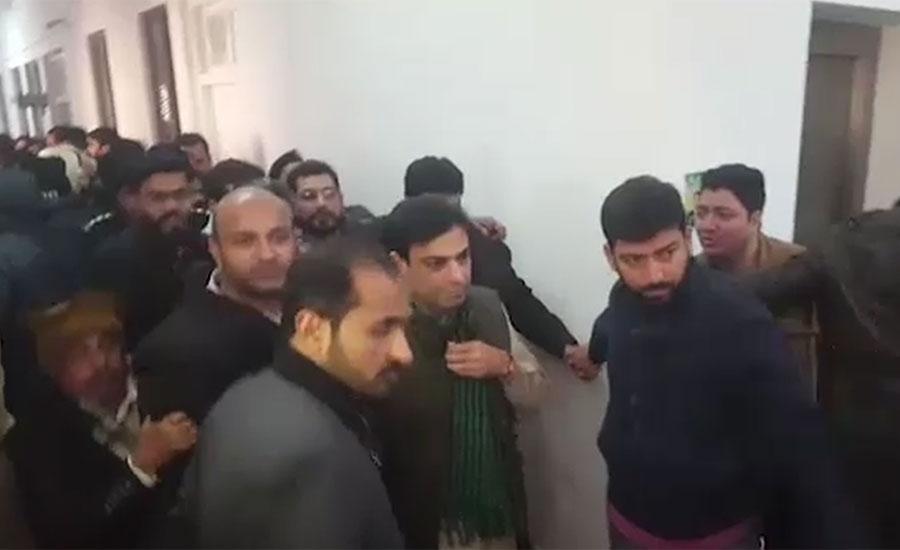آمدن سے زائد اثاثہ جات کیس ، حمزہ شہباز کے جوڈیشل ریمانڈ میں 14 روز کی توسیع