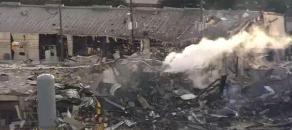 ہوسٹن، فیکٹری میں دھماکہ، ایک شخص زخمی، 92 نیوز