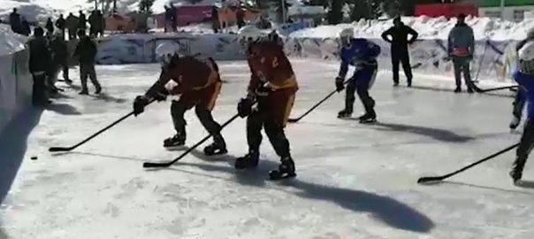 مالم جبہ اسنو فیسٹیول سوات  92 نیوز برف پوش وادی 