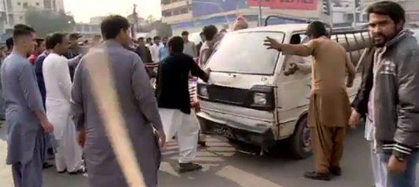 کراچی ، طارق روڈ ، انکم ٹیکس حکام ، چھاپے ، مبینہ فائرنگ ، دکانداروں ، احتجاج