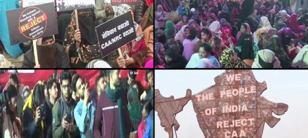 بھارت بھارت متنازعہ قانون متنازعہ قانون نئی دہلی نئی دہلی92 نیوز 92 نیو شاہین باغ شاہین باغ