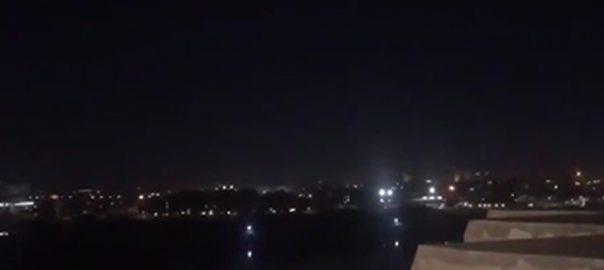 بغداد  راکٹ حملہ  متعدد افراد زخمی  92 نیوز عراقی دارالحکومت  گرین زون