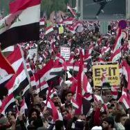 امریکی فوج، انخلاء، ہزاروں عراقی، بغداد، سڑکوں پر آگئے، 92 نیوز