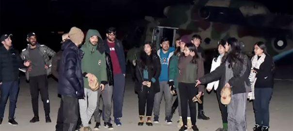 پاک فوج ، رٹو ، امدادی آپریشن ، لمز ، 22 طلبا ، راولپنڈی