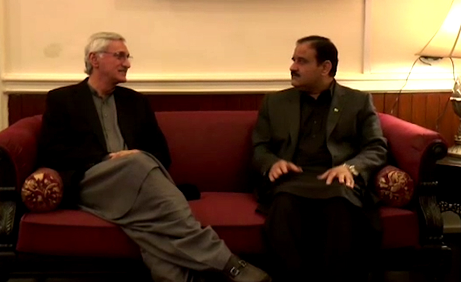 پی ٹی آئی میں اختلافات کی خبریں بے بنیاد ہیں،عثمان بزدار،جہانگیر ترین