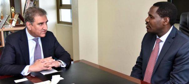 وزیر خارجہ ، کینیا ، وزیر برائے مشرقی افریقہ کمیونٹی ، ملاقات ، دو طرفہ تعلقات ، تبادلہ خیال