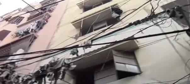 رنچھوڑ لائن زمین بوس کراچی 92 نیوز سکھر