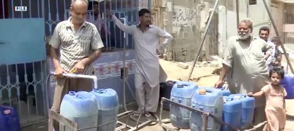 کراچی، پانی کی قلت، معاملہ، سندھ ہائیکورٹ، جسٹس کے کے آغا، ایس ایس پی ملیر، ڈی سی کورنگی، 92 نیوز