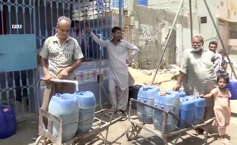 کراچی میں پانی کی قلت کا معاملہ سندھ ہائیکورٹ تک پہنچ گیا