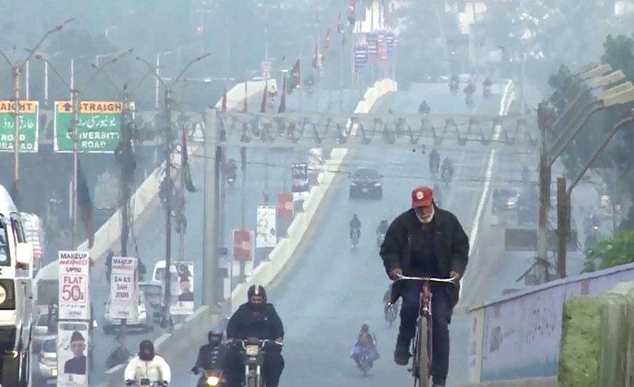 کراچی میں آج رواں سال کا سرد ترین دن ریکارڈ، درجہ حرارت 7 سینٹی گریڈ