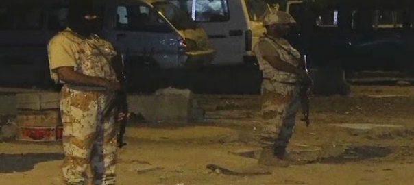کراچی ، ضلع غربی ، رینجرز ، کارروائی ، کالعدم تنظیم ، کارندے ، گرفتار