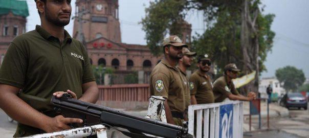 لاہور پولیس رشوت روزنامہ 92 نیوز