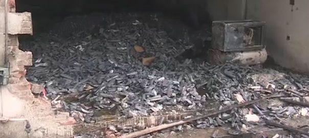 لاہور ، شاہدرہ ، فیکٹری ، آگ ، عمارت ، جاں بحق ، افراد ، گیارہ