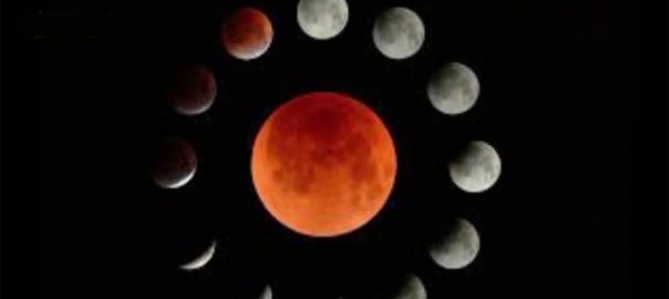 رواں سال ، پہلا ، جزوی ، چاند گرہن