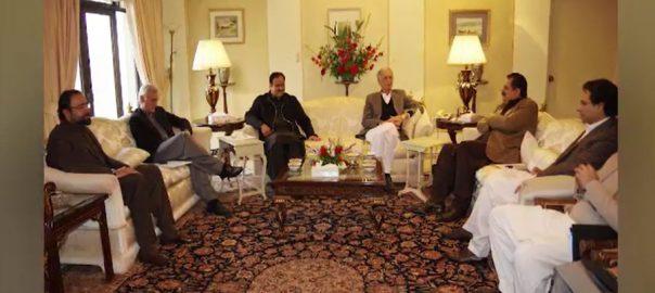 ق لیگ، اتحادیوں، عدم مشاورت، حکومت، تحفظات کا اظہار، لاہور، 92 نیوز