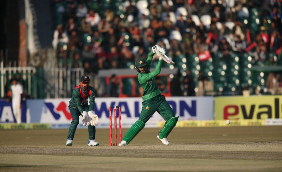 پاکستان کی بنگلہ دیش کو پہلے ٹی 20 میں 5 وکٹوں سے شکست