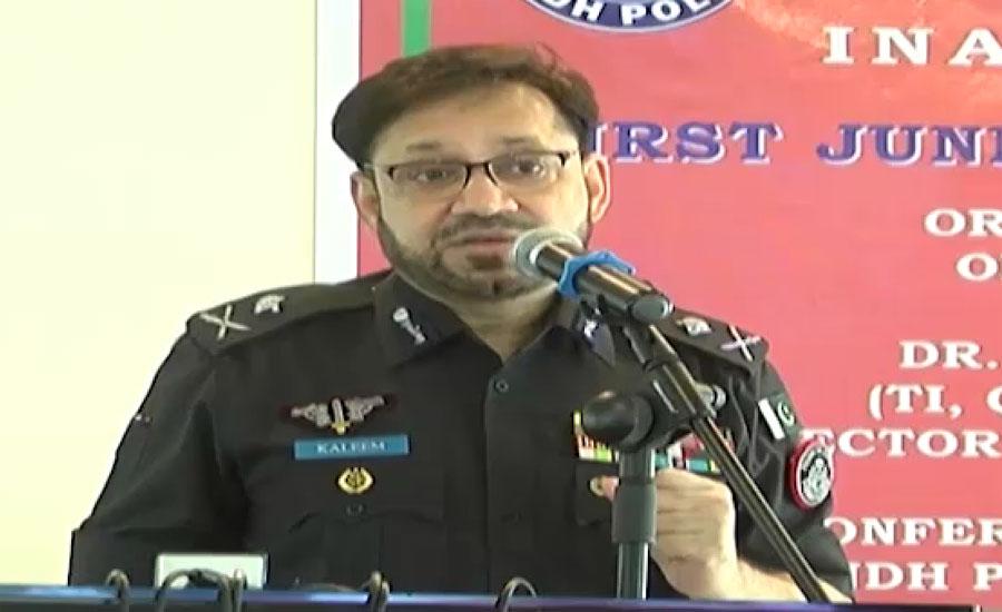 سندھ کابینہ نے آئی جی پولیس کلیم امام کو ہٹانے کی سفارش کر دی