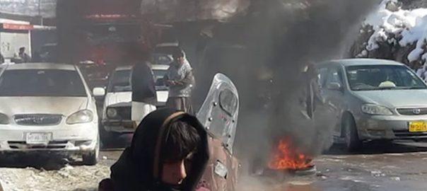 کوئٹہ ، ہنہ اوڑک ، مکینوں ، گیس ، بندش ، احتجاج