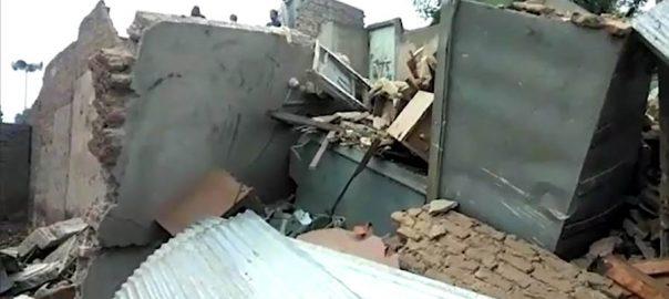 پنجاب میں بارشوں نے تباہی مچادی ، حادثات مین کئی قیمتی جانوں کا نقصان 