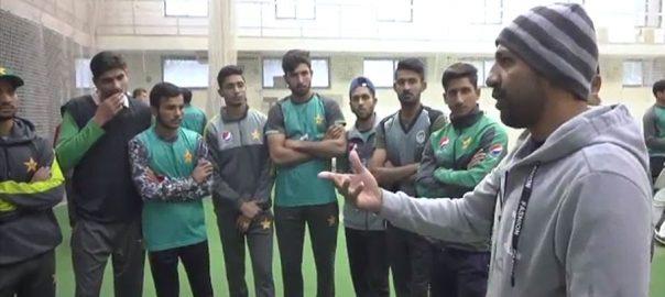 نوجوان کھلاڑی، انڈر 19 ورلڈکپ، جیتنے، اہلیت رکھتے ہیں، سرفراز احمد، لاہور، 92 نیوز