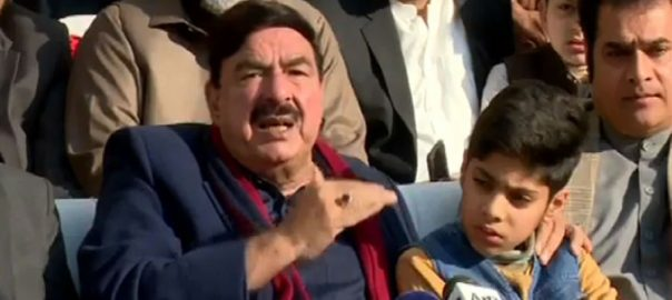عمران خان، دورہ لاہور، اچھی خبریں آئیں گی، شیخ رشید، میڈیا سے گفتگو، راولپنڈی، 92 نیوز