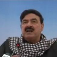 آئی ایم ایف امداد، سزا، پوری قوم، بھگت، شیخ رشید، لاہور، میڈیا سے گفتگو،92 نیوز