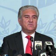 مسئلہ کشمیر شاہ محمود اسلام آباد  92 نیوز وزیر خارجہ