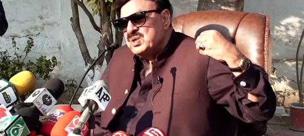 ن لیگ، پیپلزپارٹی، سروسز ایکٹ ترامیم، حمایت، کہہ چکا تھا، شیخ رشید، میڈیا گفتگو، پشاور، 92 نیوز