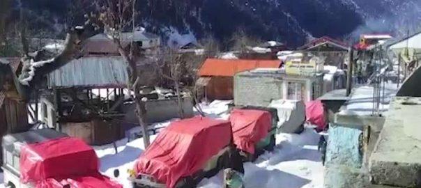 آزاد کشمیر، بالائی علاقوں، برفباری، رابطہ سڑکیں، 23 روز سے بند، مظفرآباد، 92 نیوز