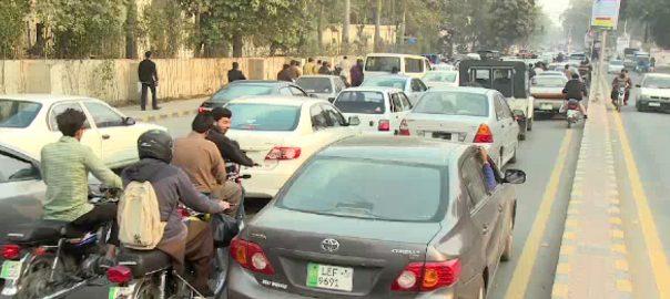 پاک بنگلہ دیش  ٹریفک ایڈوائزری پلان  لاہور  92 نیوز سٹی ٹریفک پولیس  مال روڈ جیل روڈ کینال روڈ ایم ایم عالم روڈ  راستہ ایپ راستہ ایف ایم  ون فائیو ہیلپ لائن 