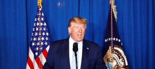 امریکی صدر، ایران، بڑے حملے، دھمکی، واشنگٹن، 92 نیوز
