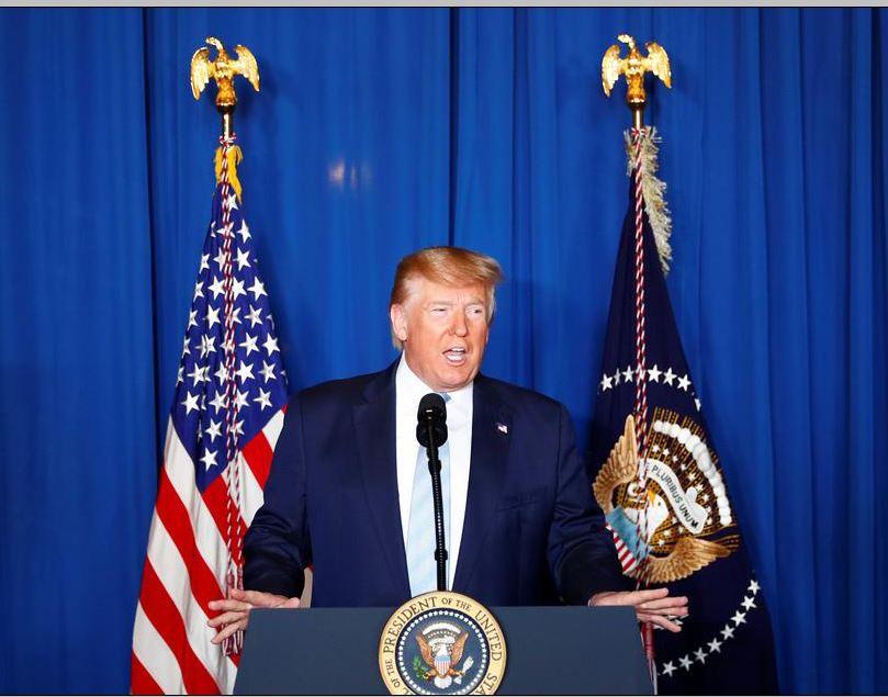 امریکی صدر کی ایران پر بڑے حملے کی دھمکی