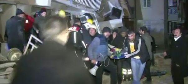 ترک صوبے ایلازا، ہولناک زلزلہ، 18 افراد جاں بحق، 550 زخمی، استنبول، 92 نیوز