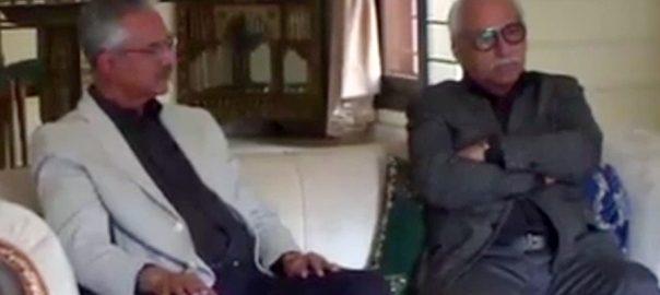 میئر کراچی کراچی  92 نیوز وسیم اختر  تیمور  حسنین حیدر  محبوب عباس