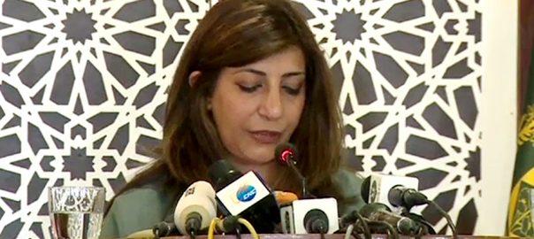 مقبوضہ کشمیر  خوراک علاج  مذہبی آزادی   ترجمان دفتر خارجہ  اسلام آباد  92 نیوز عائشہ فاروقی  ہفتہ وار بریفنگ 