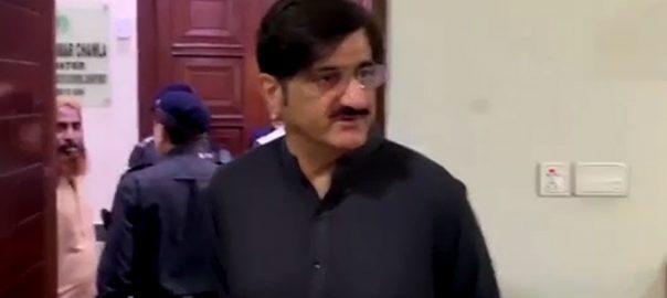 وزیر اعلیٰ سندھ غیر حاضری  کراچی  92 نیوز وزیر اعلیٰ سندھ  سید مراد علی شاہ  سیکرٹری ایکسائز  ڈپٹی سیکرٹری 