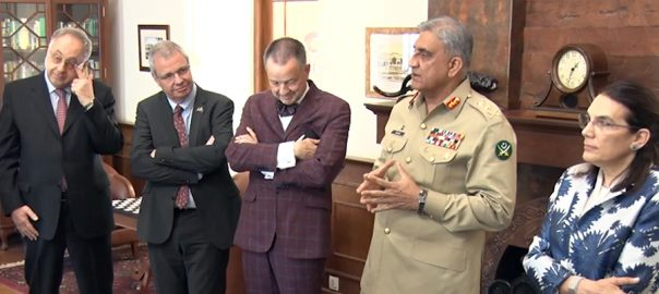 یورپی یونین ، پاکستان ، سفیر ، وفد ، آرمی چیف ، جنرل قمر جاوید باجوہ ، ملاقات