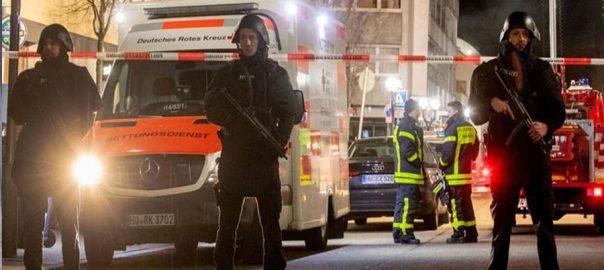Frankfurt-shootings-incident-92news جرمنی شیشہ بار فائرنگ 9افراد ہلاک  برلن  92 نیوز فرینکفرٹ 