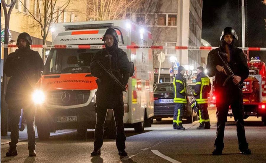 جرمنی میں شیشہ بار میں فائرنگ،8 افراد ہلاک