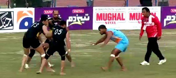 کبڈی ورلڈ کپ  تیسرا روز  لاہور  92 نیوز