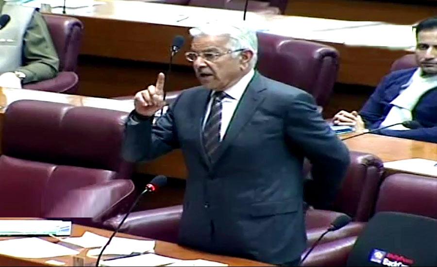 وزیر اعظم نے کہا تھا اگر مہنگائی بڑھ جائے تو سمجھ لیں حکمران کرپٹ ہے، خواجہ آصف