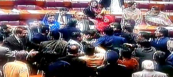 NA عمر ایوب  مسٹر 10 پرسنٹ قومی اسمبلی ہنگامہ اسلام آباد  92 نیوز وفاقی وزیر