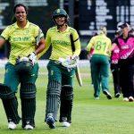 جنوبی افریقن ویمن ٹیم نے نیوزی لینڈ کو 5وکٹوں سے شکست دیدی