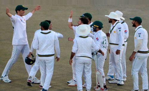 pakistan پاکستان نے پہلے ٹیسٹ میں بنگلہ دیش کو ایک اننگز اور 44رنز سے شکست دیدی